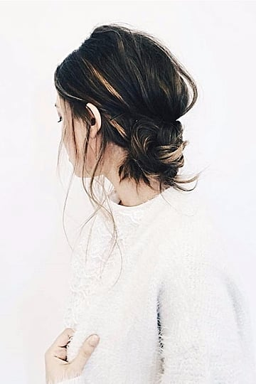 Trade in Your Messy Bun For the Banana Bun Hair Trend