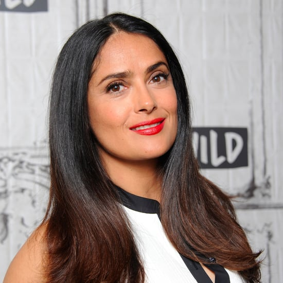 Salma Hayek Doesn't Dye Her Hair