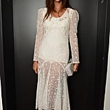 Julia Restoin Roitfeld was every bit the supportive daughter at the afterparty for Mademoiselle C.