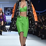 She Changed Our Minds About Bucket Hats at Moschino
