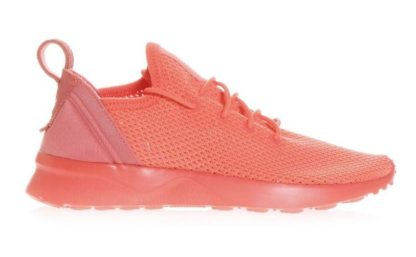 huge selection of 2b30b 0621f Adidas Zx Flux Adv Virtue Shoes | Coral Sneakers | POPSUGAR ...