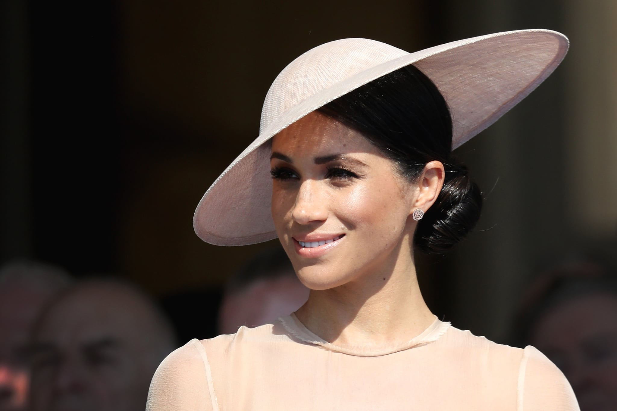 LONDON, ENGLAND - MAY 22:  Meghan, Duchess of Sussex attends The Prince of Wales' 70th Birthday Patronage Celebration held at Buckingham Palace on May 22, 2018 in London, England.  (Photo by Chris Jackson/Chris Jackson/Getty Images)