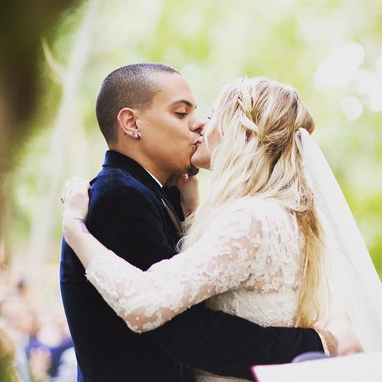 Surprise: Ashlee Simpson's Husband Shares New Snaps From Their Wedding!