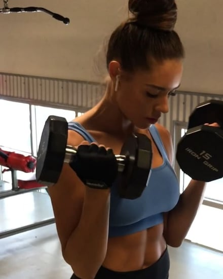 Kelsey Wells Shoulders and Abs Workout