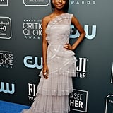 Shahadi Wright Joseph at the 2020 Critics' Choice Awards