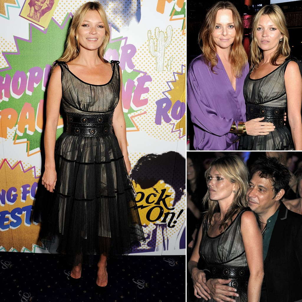 Kate Moss, Jamie Hince & Stella McCartney At Refugee Event
