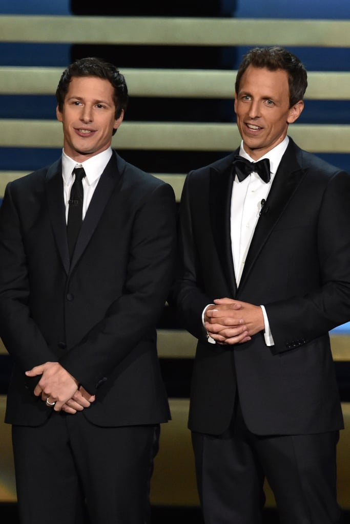 """It's an honor to be cohosting the Emmys with you this evening!"" — Andy Samberg, misunderstanding his role"