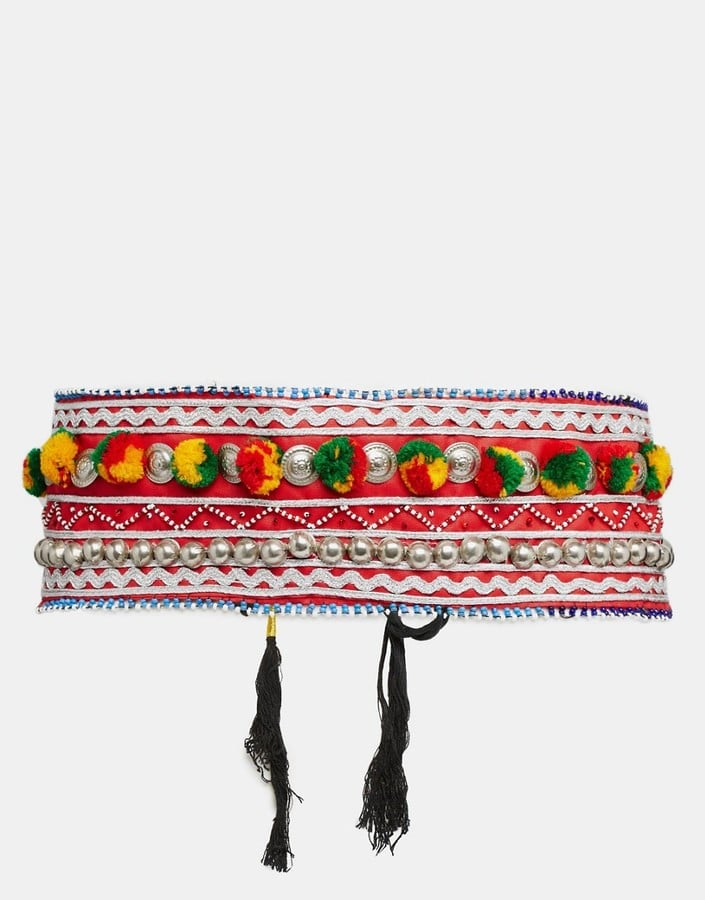 Reclaimed Vintage Pom Pom Body Belt ($41)