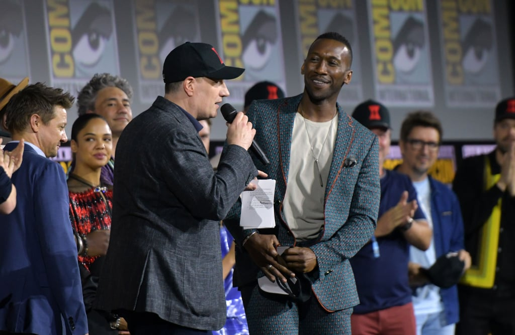 Pictured: Kevin Feige and Mahershala Ali at San Diego Comic-Con.