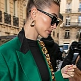 Hailey Bieber's Bright Looks For Paris Fashion Week
