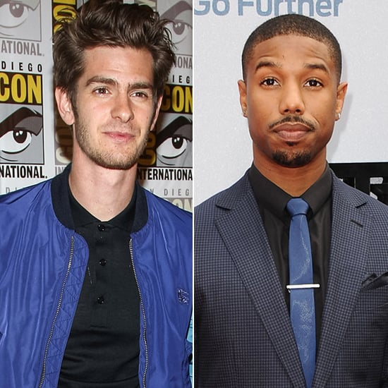 "Andrew Garfield expressed in the July 2013 issue of Entertainment Weekly that he didn't see why Spider-Man couldn't have a male love interest. He went even further and selected a potential candidate for the male version of Mary Jane: ""I've been obsessed with Michael B. Jordan since The Wire. He's so charismatic and talented. It'd be even better — we'd have interracial bisexuality!"""