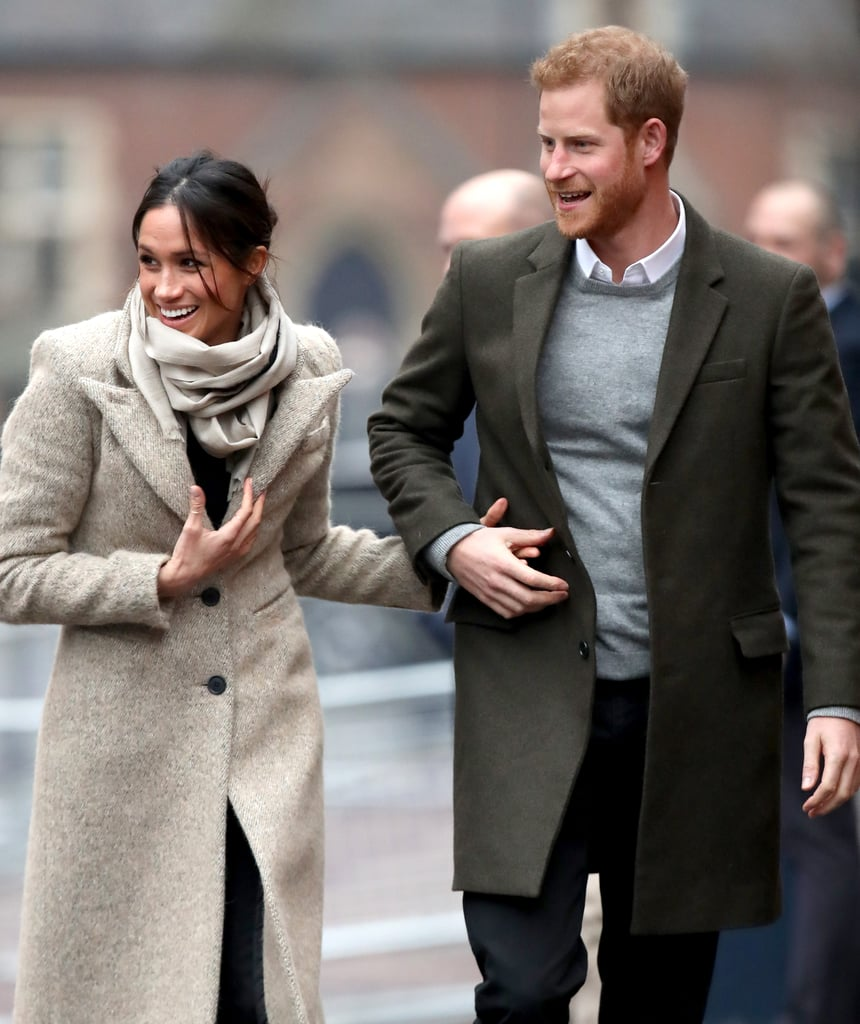Prince Harry and Meghan Markle have proven time and time again that they aren't your typical royal couple. Not only will they go against tradition for their royal wedding in May, but they also have a special way of showing off their love in public. While most royals, like Prince William and Kate Middleton, usually refrain from showing PDA, Harry and Meghan are completely the opposite. In fact, they have become notorious for their sweet gestures toward one another. Aside from touching each other's backs, you can almost always spot them holding hands. It's clear these two are shaking things up when it comes to traditional royal behavior, and we love them for it.       Related:                                                                                                           8 Times Meghan Markle Went Against Tradition and Broke Royal Protocol