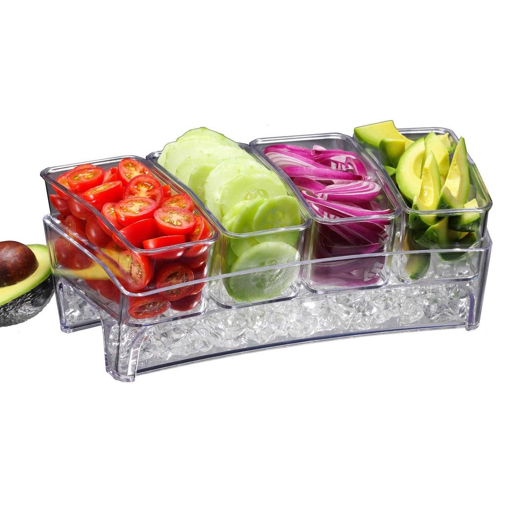 Prodyne Condiments Bar on Ice Tray