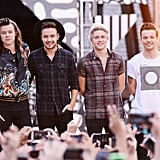 One Direction Performing on Good Morning America in 2015