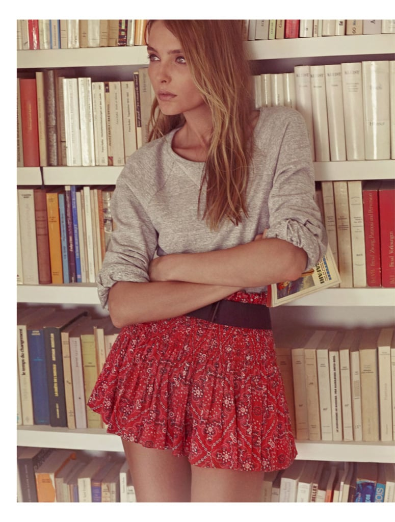 I think I have a girl crush. She's french, a little too cool for school, and way outta my league (budget wise!). But I love Isabel Marant. Her so-frenchy-so-chic theads are putting me in a spin, and her campaign images have somehow made her S/S '11 range look SO much cooler than when we spied it on the catwalk in Paris. There's some mah-jor styling inspiration here, so warning: I might just be sporting an oversized jumper/cuffed skinny jean combo tomorrow. Love the warm summer vibe coming from these washed out, sepia toned images of Snejana Onopka taken by Karim Sadli. Trying. Not. To. Buy. Everything. You can see the range in store in Sydney's The Corner Store, or jump on Net-a-Porter to get your fix. Take a look through the rest of the dreamy pics and fall in love with Isabel too.