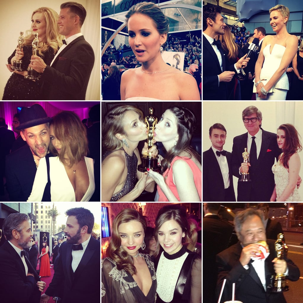 Celebrity Twitter Pictures From Oscar Weekend