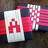 Pixel Weave Gift Wrap