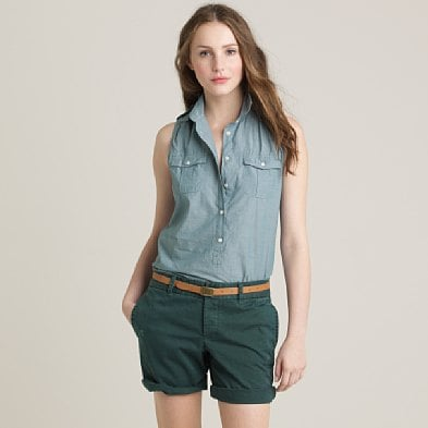 J.Crew Broken Boyfriend Chino Shorts ($50)