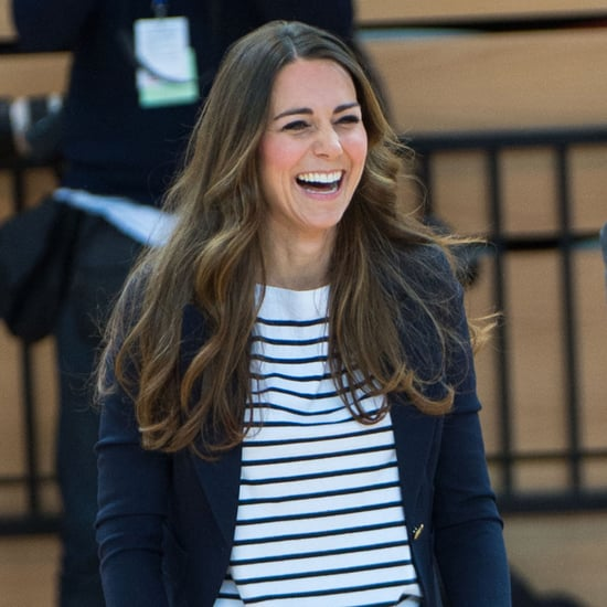 Kate Middleton Playing Volleyball   Pictures