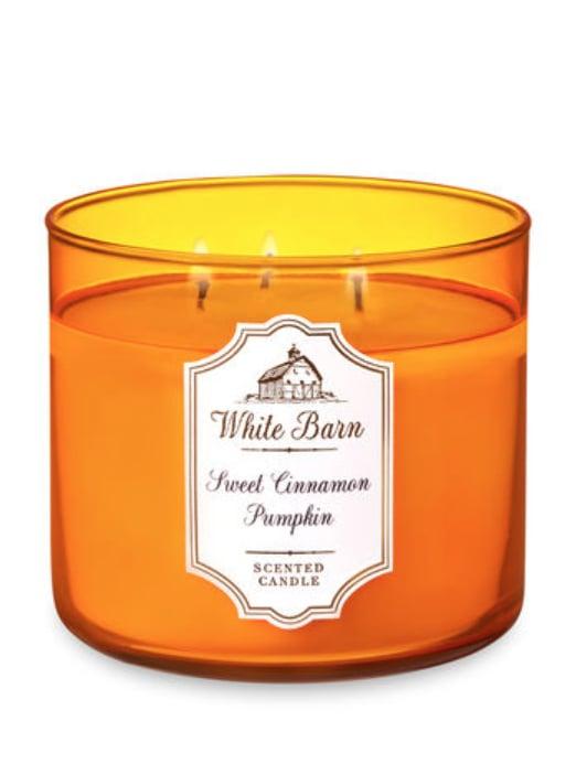 Sweet Cinnamon Pumpkin Three-Wick Candle