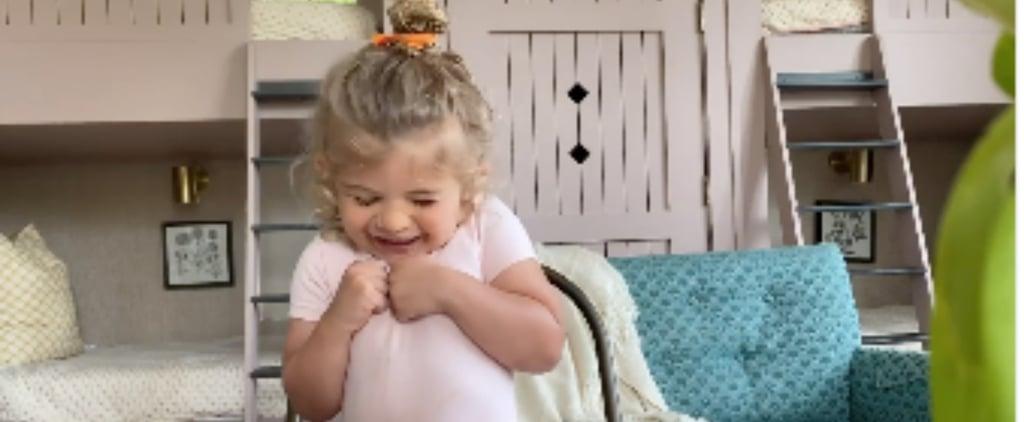 Watch Thomas Rhett's Daughter Do the Fruit Snack Challenge