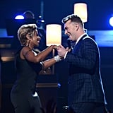Mary J. Blige Couldn't Get Enough of Him During Their Duet . . .