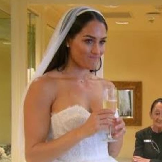 Nikki Bella Trying on Wedding Dresses on Total Bellas Video