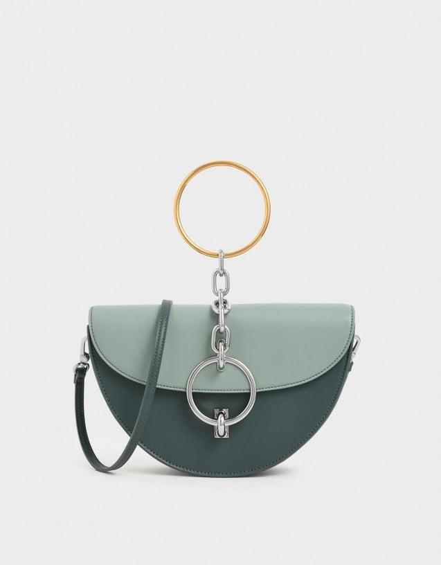 Charles & Keith Half-Moon Bracelet Bag