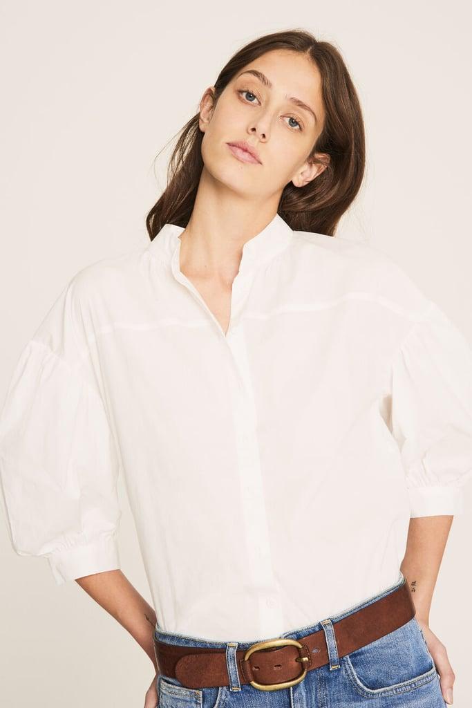 Ba&sh Buggy Blanc Shirt