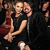 Dave Grohl and Jordyn Blum, 2012