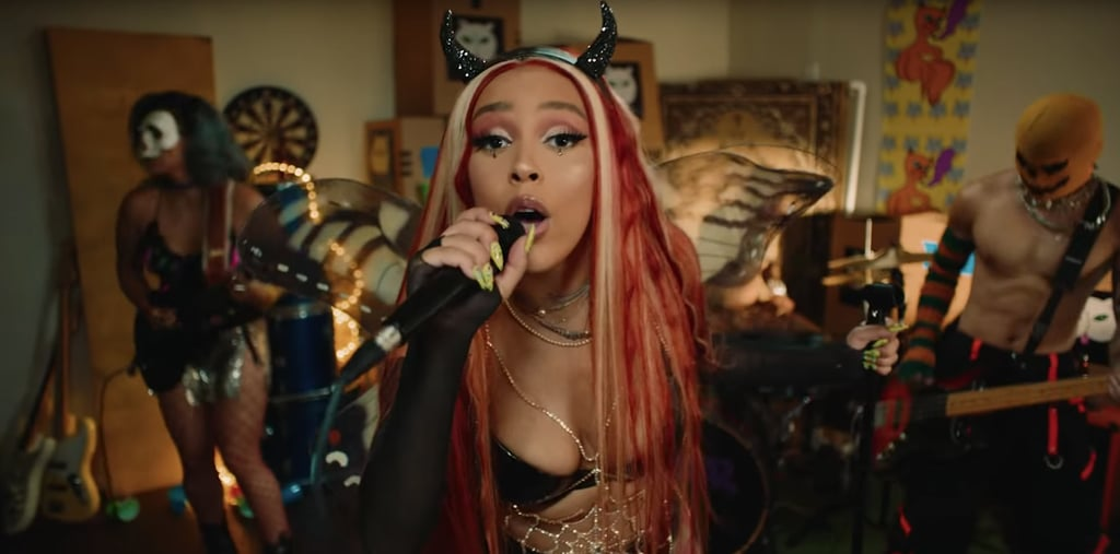 "Doja Cat's ""Bottom B*tch"" Music Video Beauty Looks"