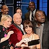 Martha Stewart, Snoop Dogg, Jeff Ross, Pete Davidson, Natasha Leggero, Shaquille O'Neal, and Hannibal Buress