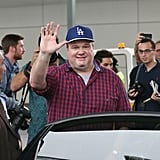 Eric Stonestreet arrived in Sydney on Saturday, Feb. 15.