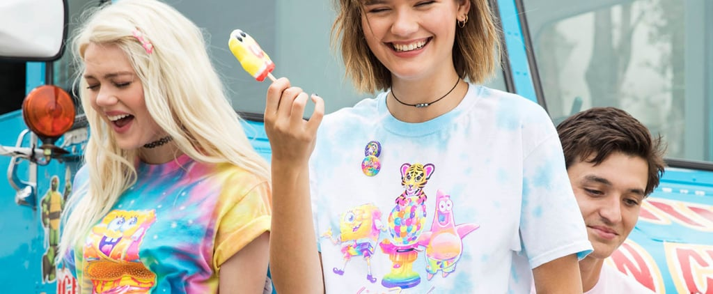 Lisa Frank SpongeBob Collection at Hot Topic