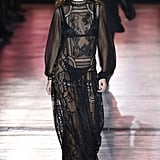 Gigi Closing the Show in a Sheer Boho Dress