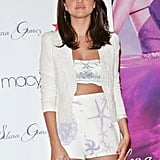 Selena Gomez Rocks a Crop Top to Her Fragrance Launch