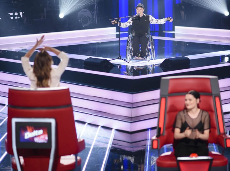 Video of Tim McCallum's The Voice Audition in Wheelchair