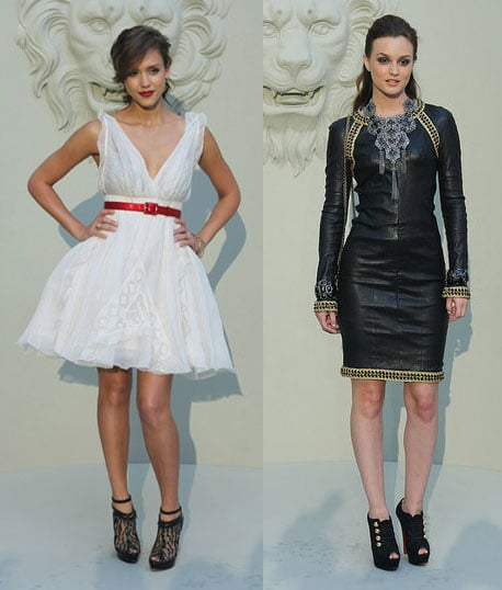Pictures of Leighton Meester and Jessica Alba