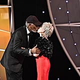 Pictured: Morgan Freeman and Rita Moreno
