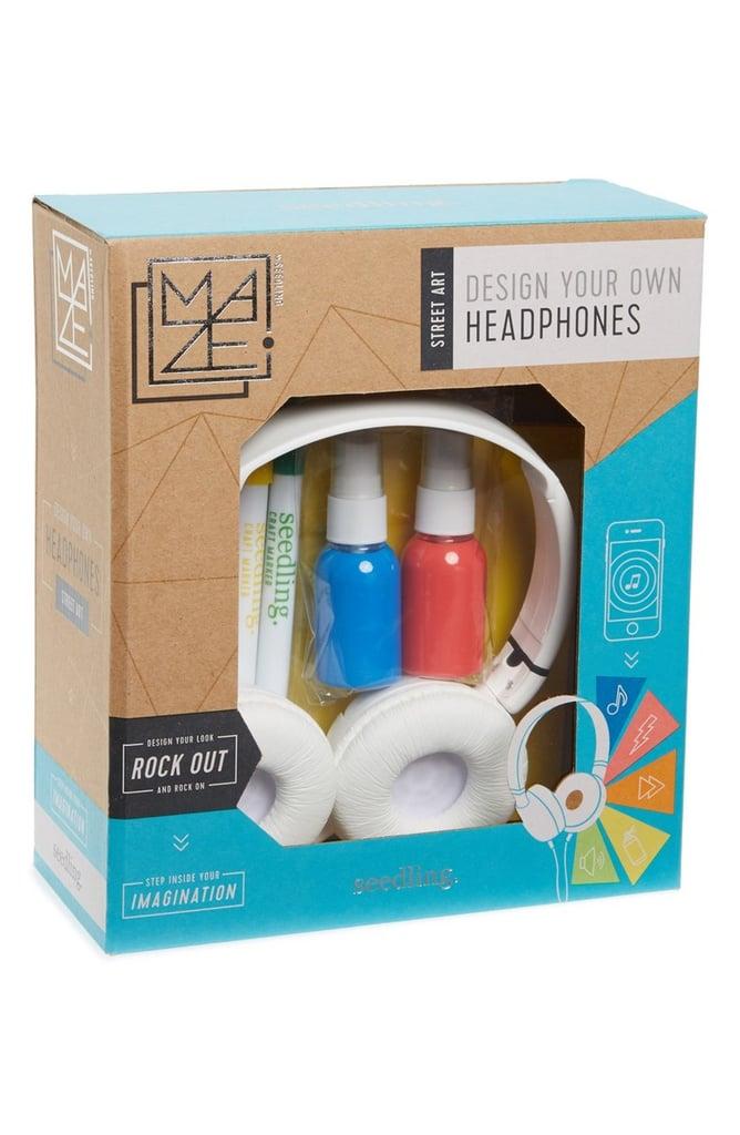 Street Art Design Your Own Headphones Kit