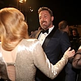 Pictured: Amy Adams and Ben Affleck