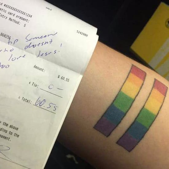 Server Gets No Tip For LGBTQ+ Tattoo