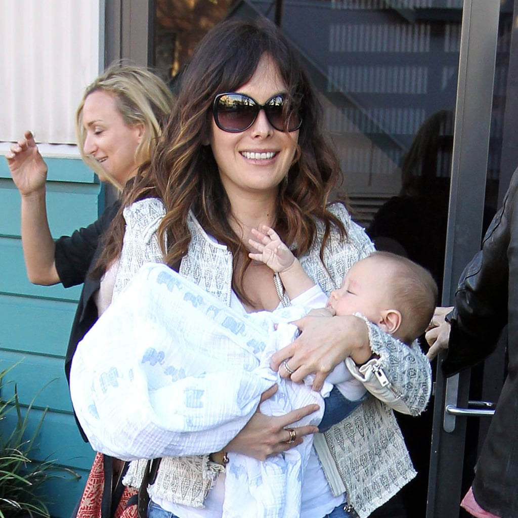 Lindsay Price and Curtis Stone With Baby Hudson Pictures