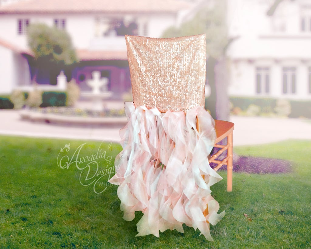 Bridal Chair Cover