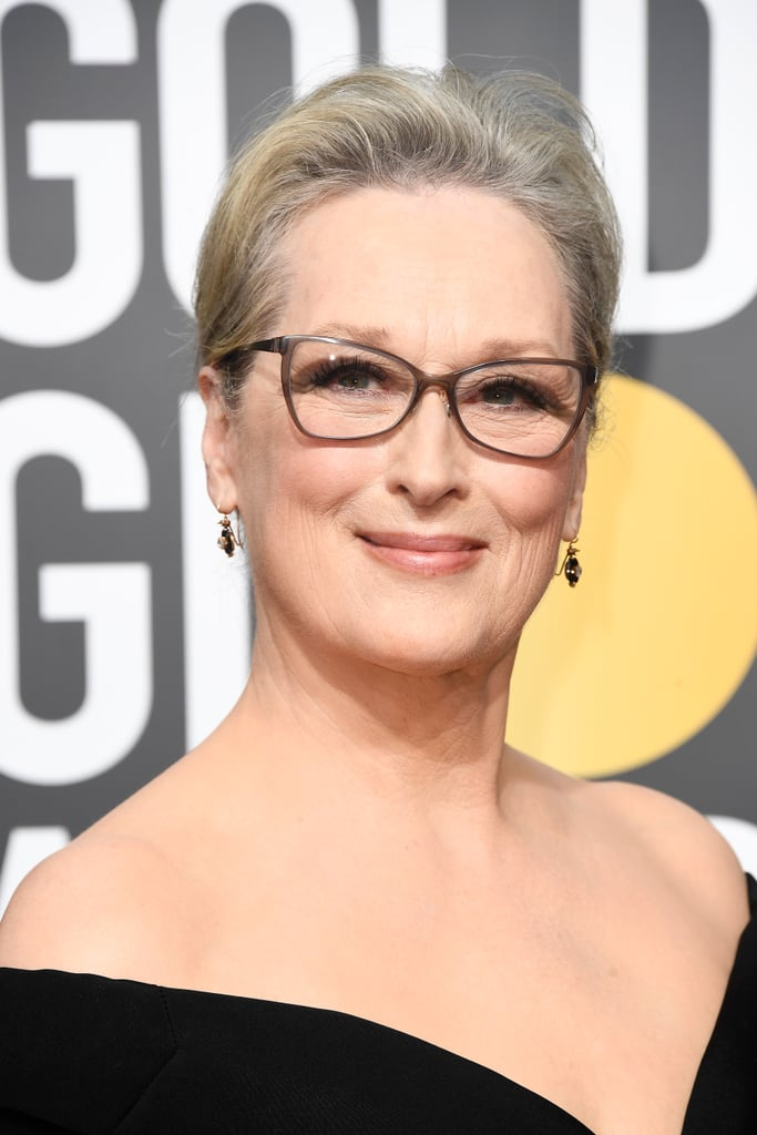 Meryl Streep Celebrity Hair And Makeup At The 2018