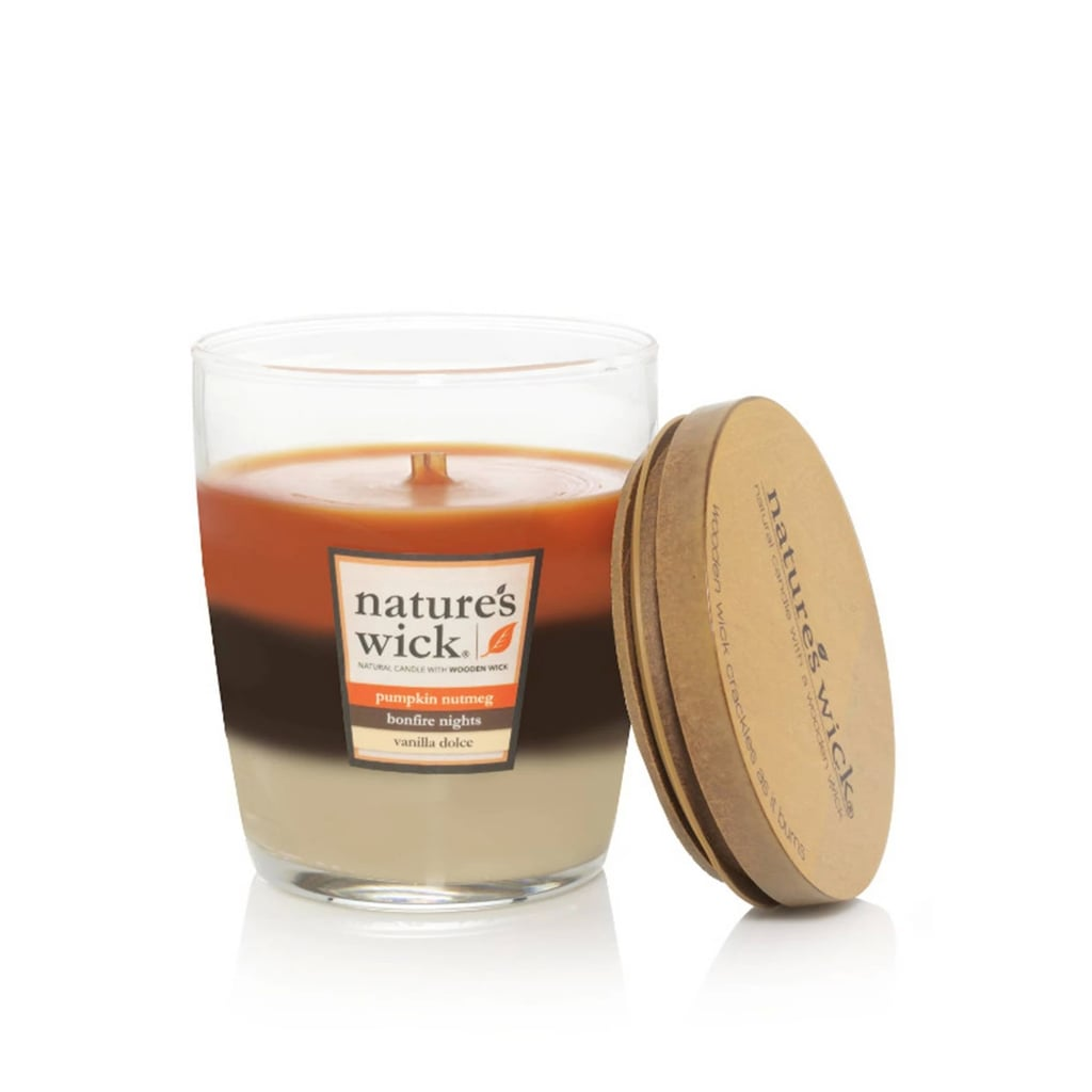 Pumpkin Nutmeg, Bonfire Nights, and Vanilla Dolce Glass Jar Layered Candle