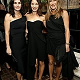 Courteney Cox, Amanda Anka, and Jennifer Anniston at the Netflix Oscars Party