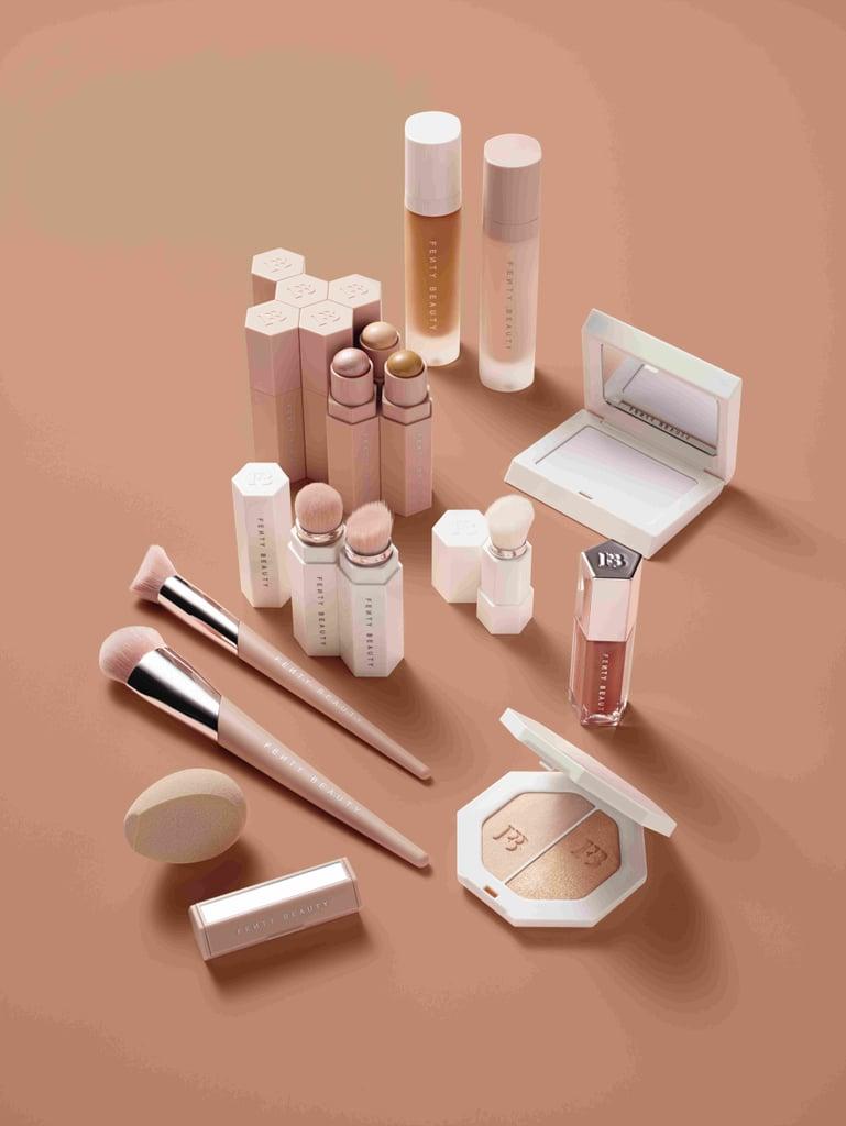Rihanna Fenty Beauty Product Swatches 2017