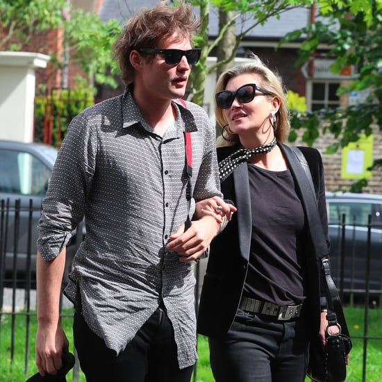 Kate Moss and Nikolai von Bismarck in London June 2017