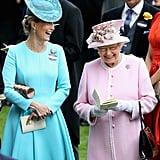 Zara Tindall and Queen Elizabeth II, 2016